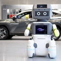 Hyundai's DAl-e is an AI powered robot that provides customer support on showroom floors.