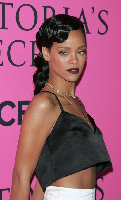 Rihanna at the Victoria's Secret Fashion Show in 2012.