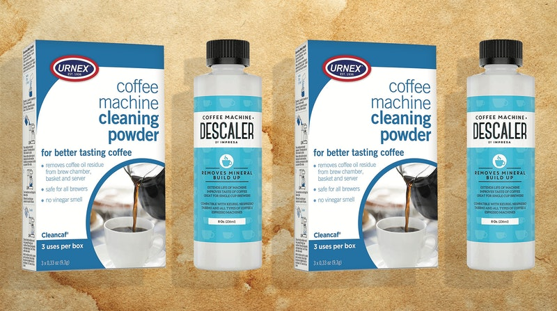 the best coffee maker cleaners