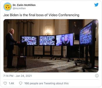 Biden Zoom conference