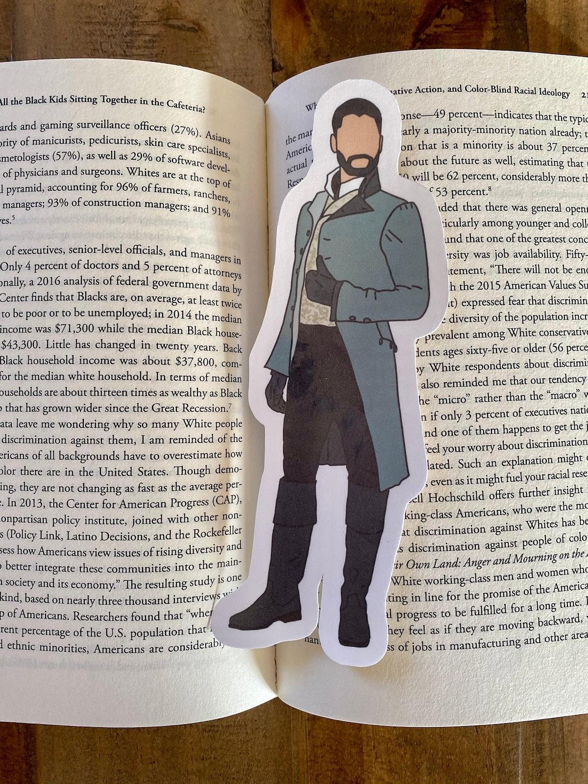 Bridgerton Bookmark