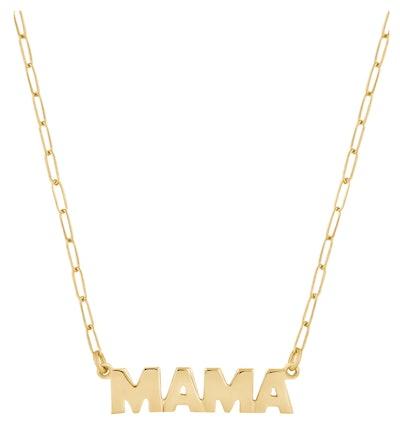 Electric Picks Mama Pendant Necklace