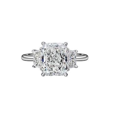 Diamond Engagement Ring (Price Upon Design)