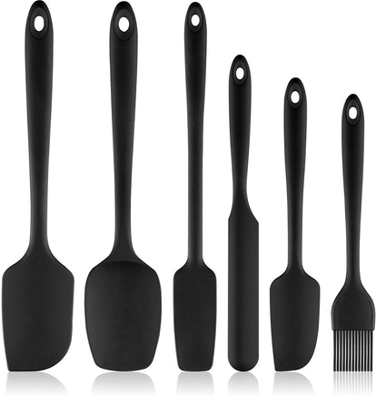 REEVOO Silicone Spatula Set (6 Pieces)