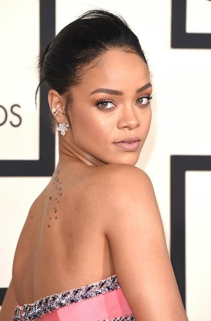 Rihanna at the Grammy Awards in 2015.
