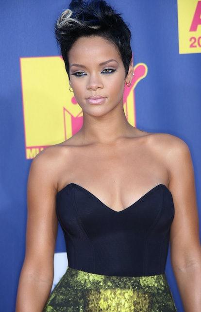 Rihanna at the VMAs in 2008.