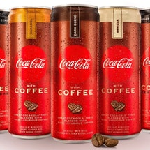 New Coca-Cola Coffee cans