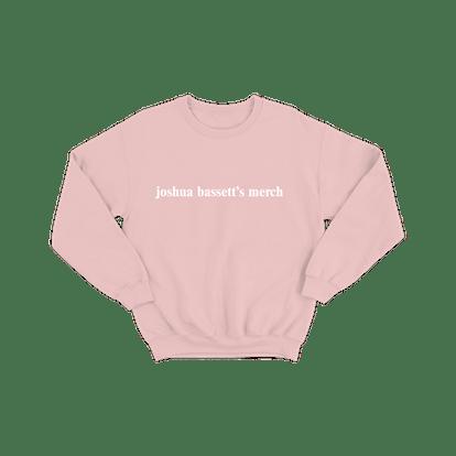 Joshua Bassett's Crewneck Pink