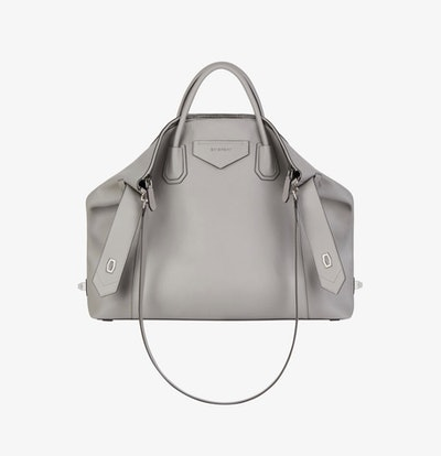 Large Anitgona Soft Bag In Smooth Leather
