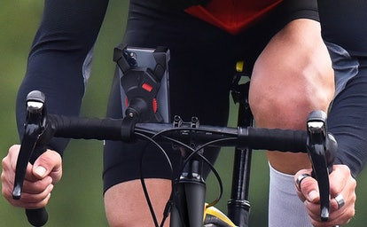 visnfa Anti-Shake Bike Phone Mount