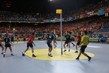 the Dutch sport Korfball
