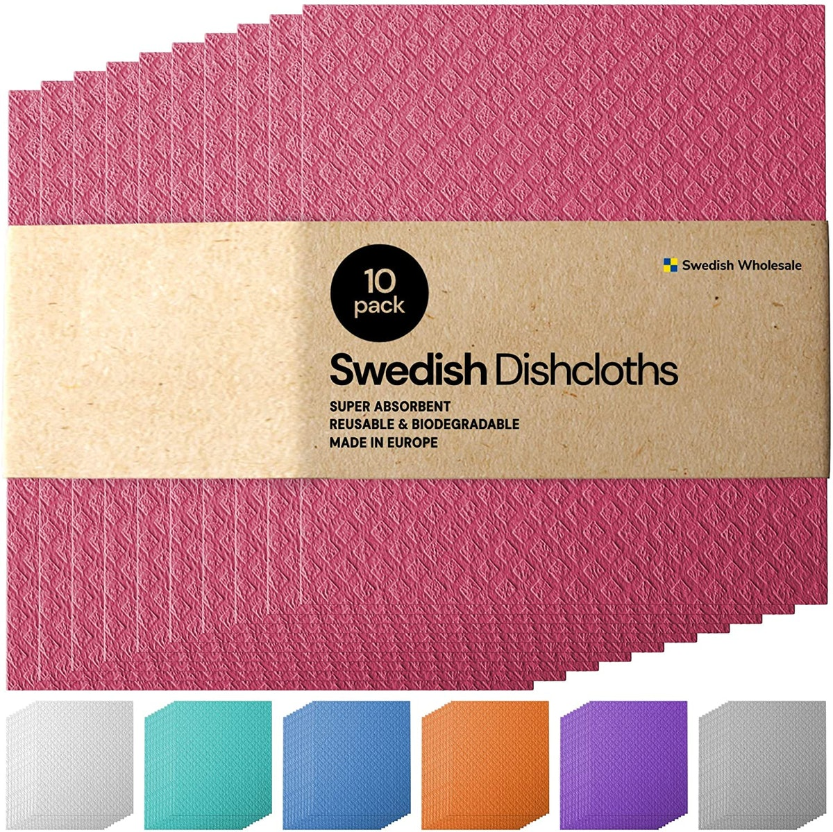 Swedish Dishcloths (10-Pack)