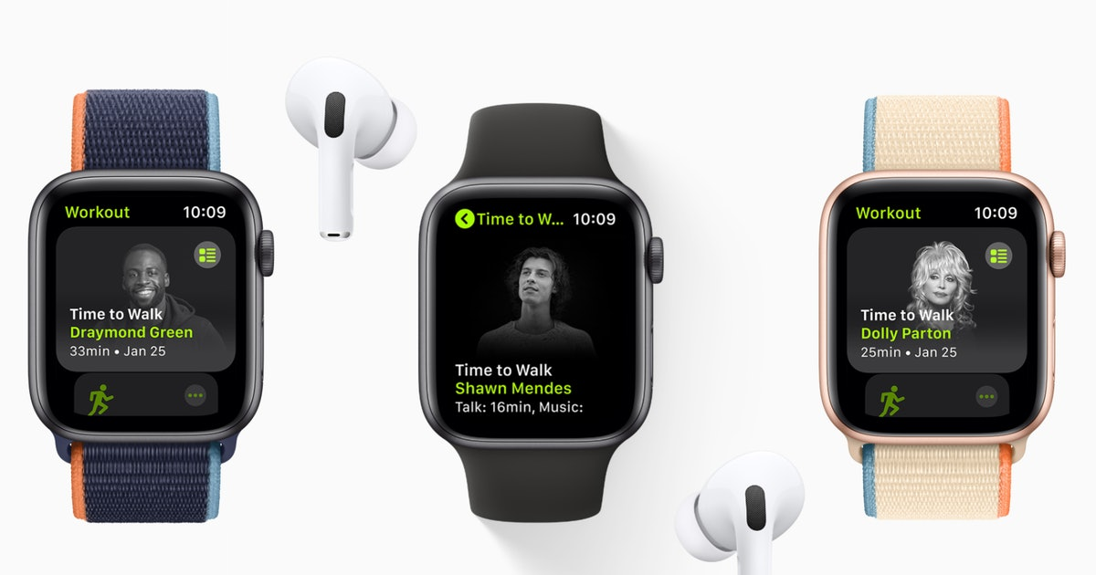 Dolly Parton Teamed Up With Apple To Help You Get Your Steps In