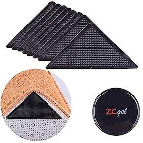 ZC GEL Rug Grippers for Hardwood Floors (8 pcs)