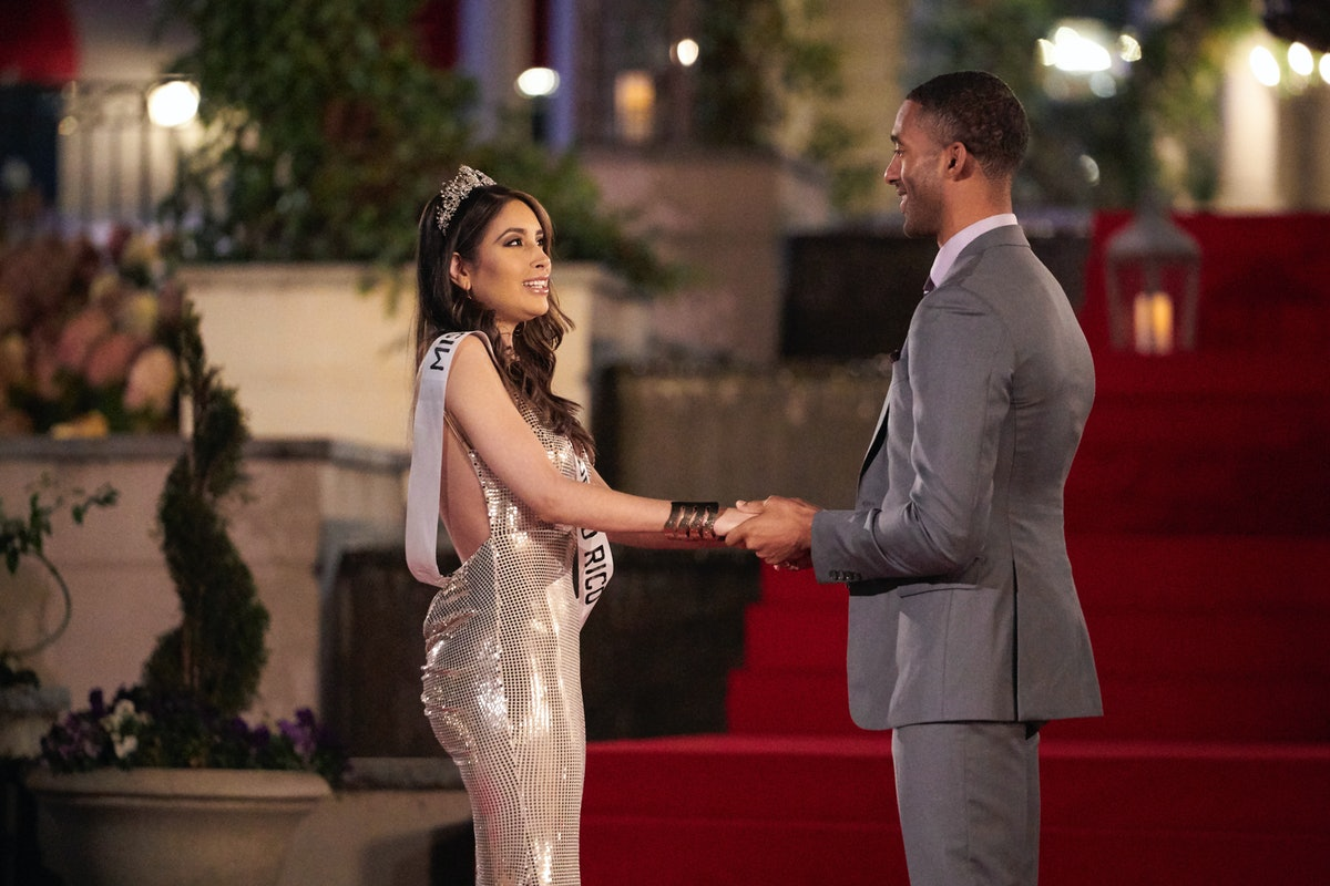 Catalina and Matt James in The Bachelor.