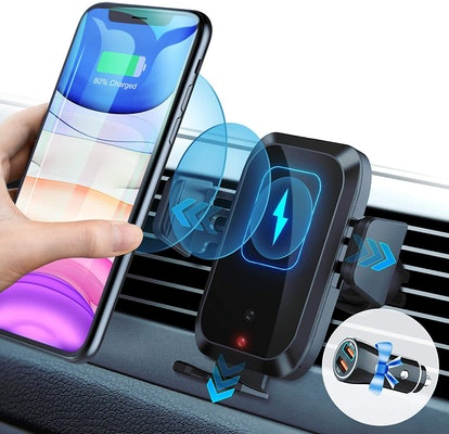 WAITIEE Magnetic Wireless Car Charger