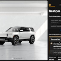 How Rivian, Tesla and Lucid are using car configurators to build buyers' dream EV