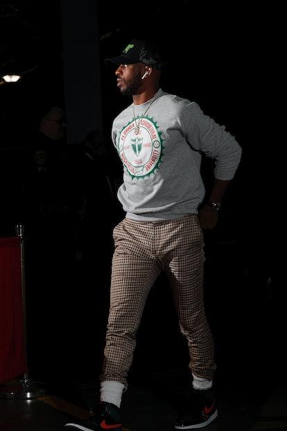 Chris Paul's NBA style.