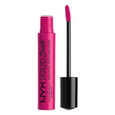Liquid Suede Cream Lipstick in Pink Lust