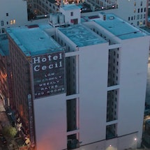 Watch the 'Crime Scene: The Vanishing at the Cecil Hotel' trailer. Photo via Netflix