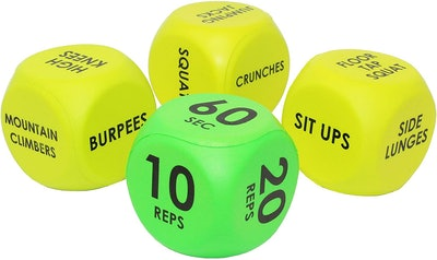 Skywin Workout Dice (Set of 4)