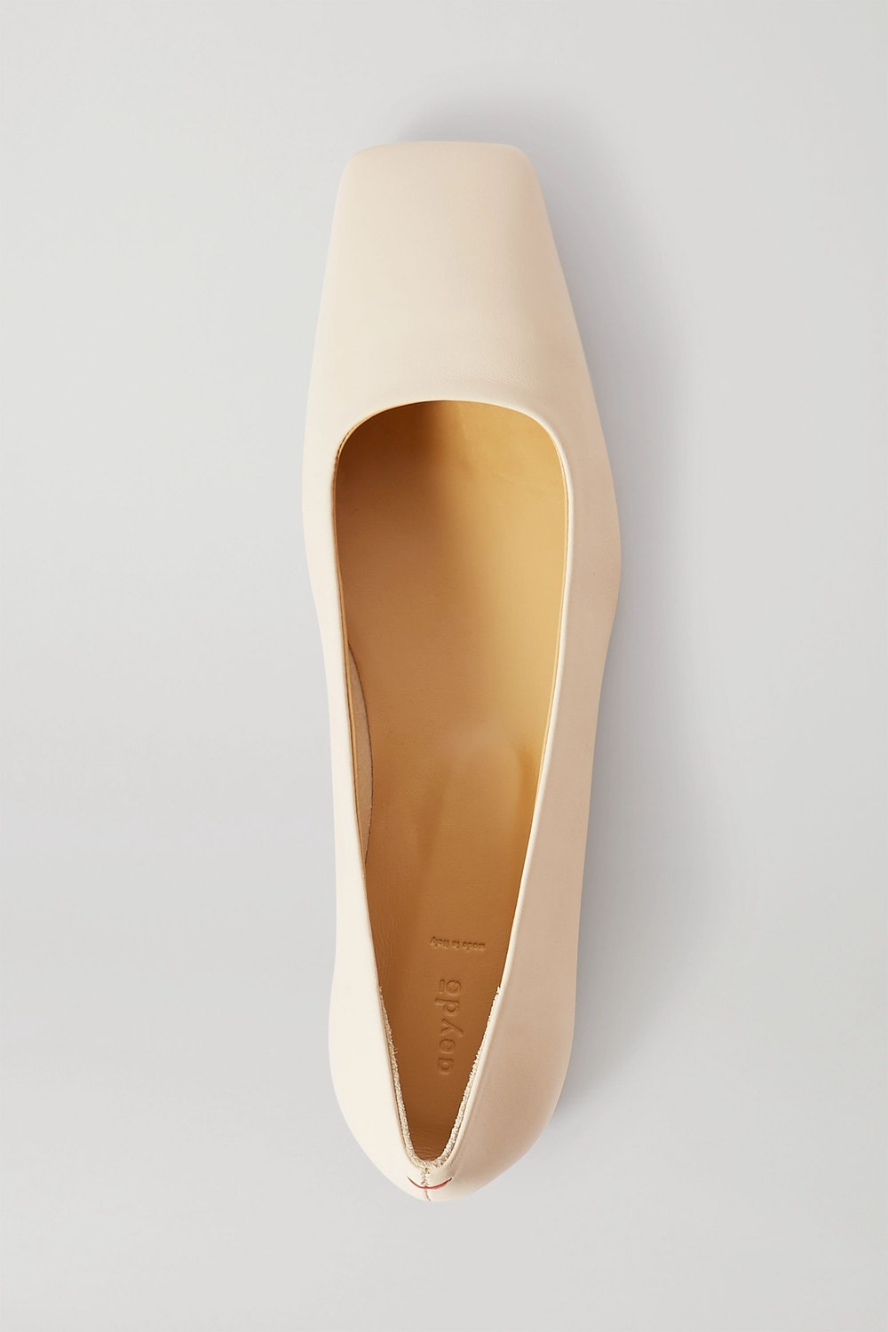 Gina leather ballet flats