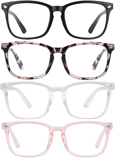 WMAO Blue Light Blocking Glasses (4-Pack)