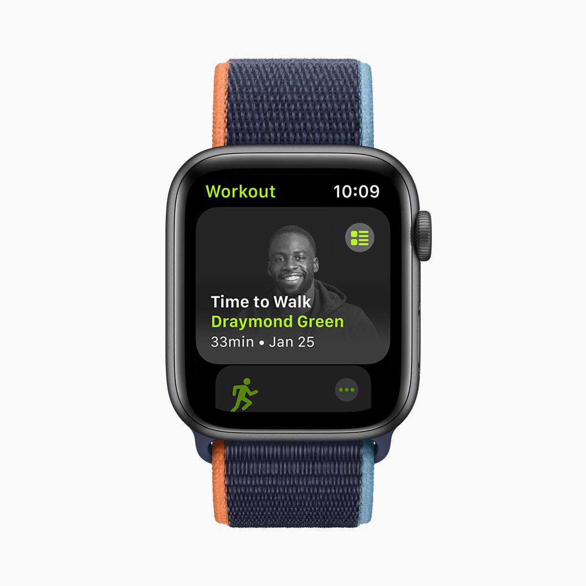 """Apple's new """"Time to Walk"""" workouts for Fitness+ feature well-known figures."""