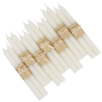 XIANGZHU Pure Beeswax Candles (14-Pack)