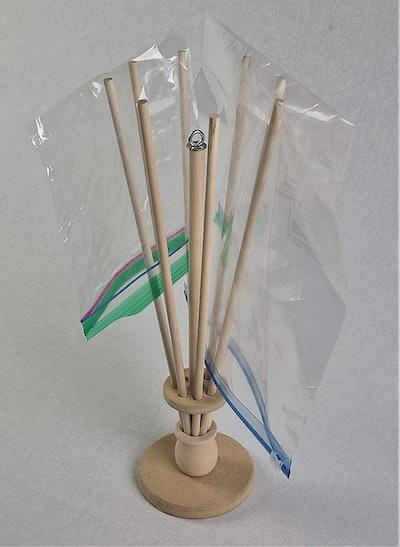 FloWorks Design Plastic Bag and Bottle Dryer