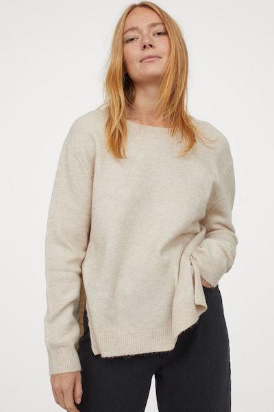 Knit Nursing Sweater