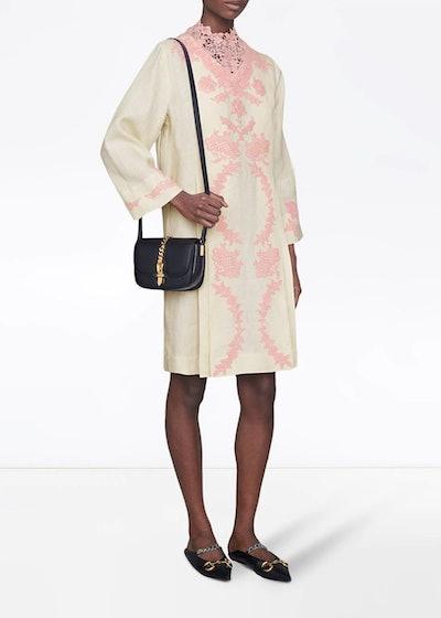 Gucci Lace Kaftan Dress