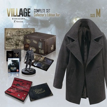 Capcom is selling a collector's edition of its Resident Evil Village game that includes a replica coat from the game.
