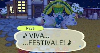 Pavé festivale animal crossing city folks new horizons