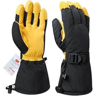 OZERO Ski Gloves