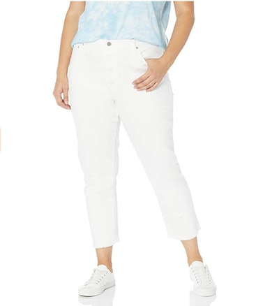 The Drop Women's Audrey High-Rise Straight Fit Button-Fly Jean
