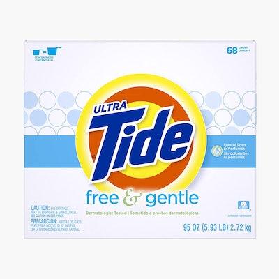 Tide Free & Gentle HE Turbo Powder Laundry Detergent (95 Ounces)