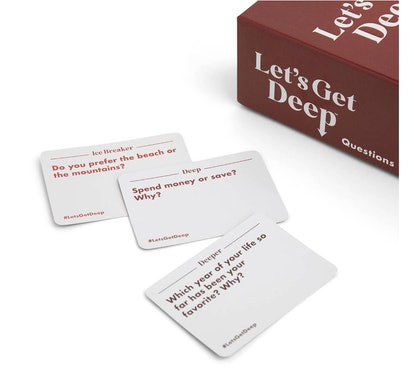 Let's Get Deep Adult Party Game by What Do You Meme?