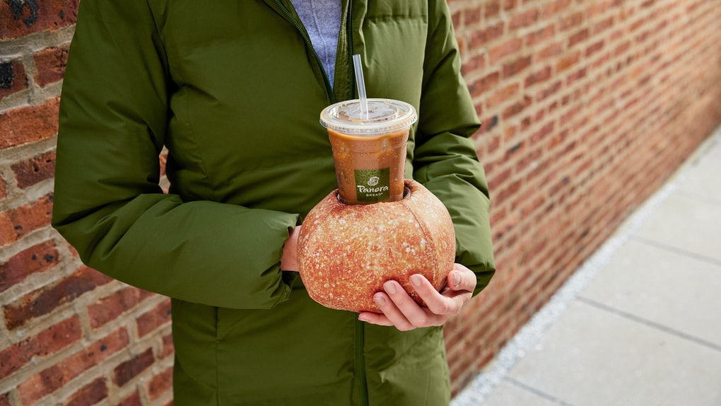 Panera Bread's new Iced and Toasty Bread Bowl Glove is following in the Baguette Pillow's footsteps.