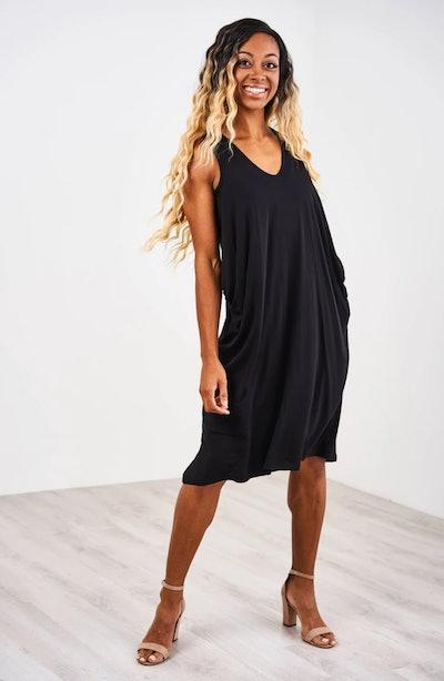 Cropped Cocoon Nursing Dress