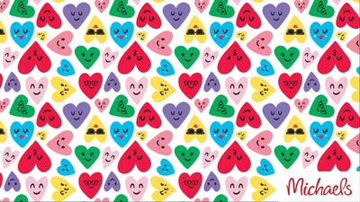 Illustrated Heart Background