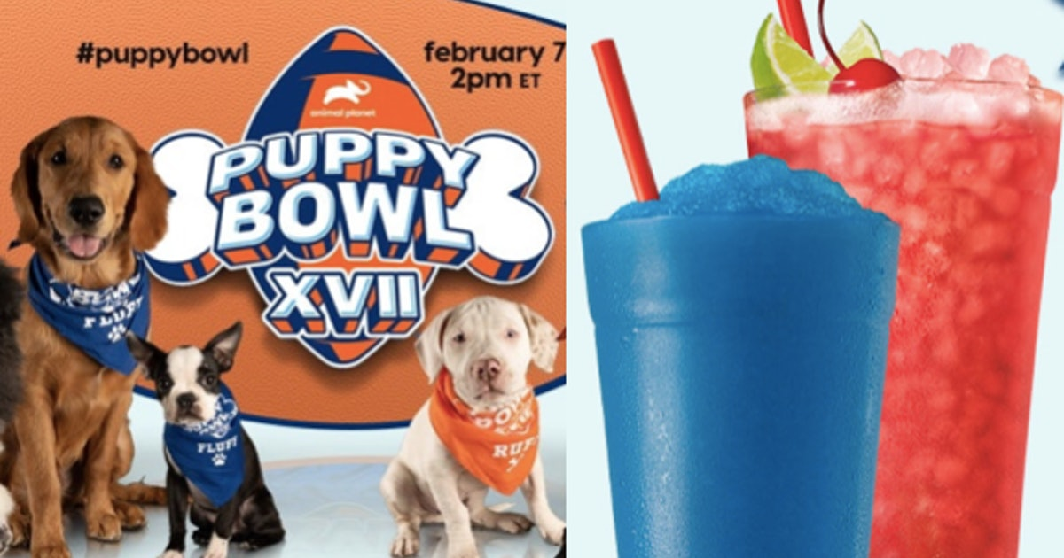 Sonic Is Celebrating The Puppy Bowl By Giving Away These Refreshing Freebies