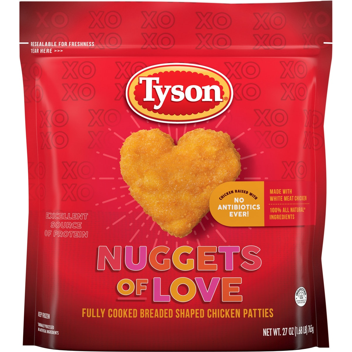 Here's how to get Tyson's heart-shaped Nuggets of Love before they're gone.