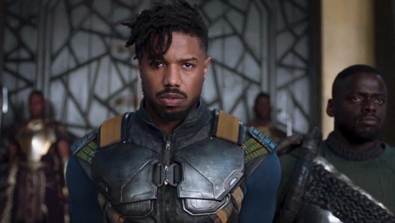 Michael B. Jordan as Killmonger in 'Black Panther