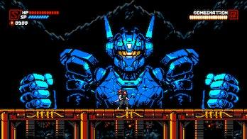 cyber shadow boss robot game pass