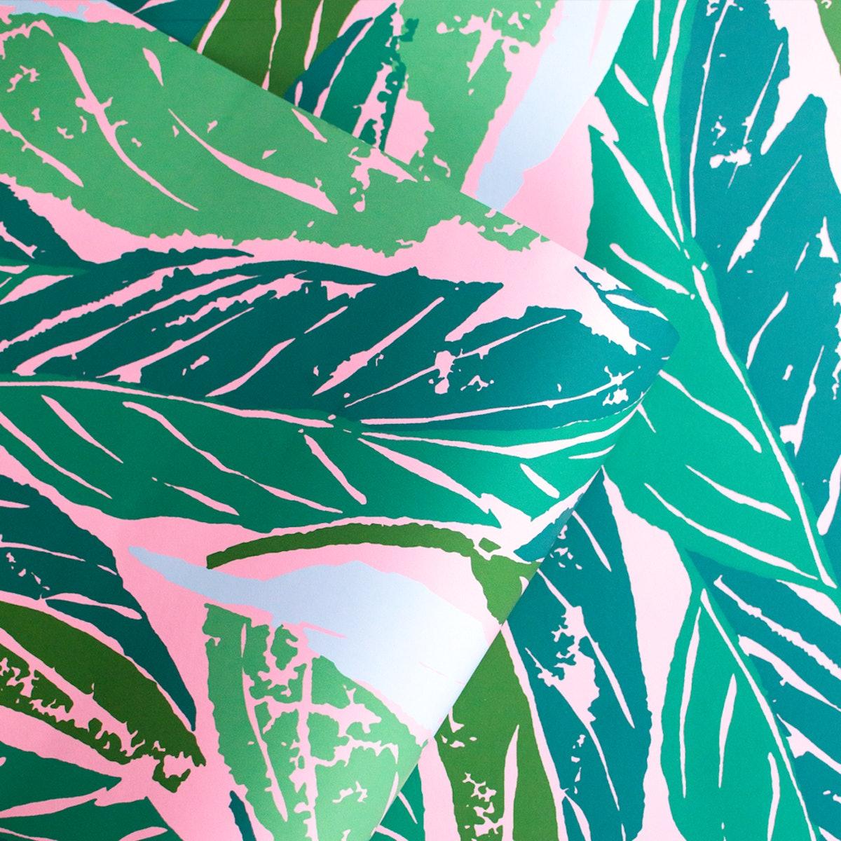 Nana Wallpaper in Pink by Justina Blakeney®