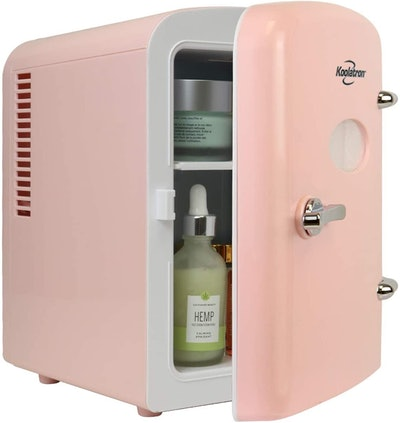 Chefman Mirrored Skin Care Refrigerator