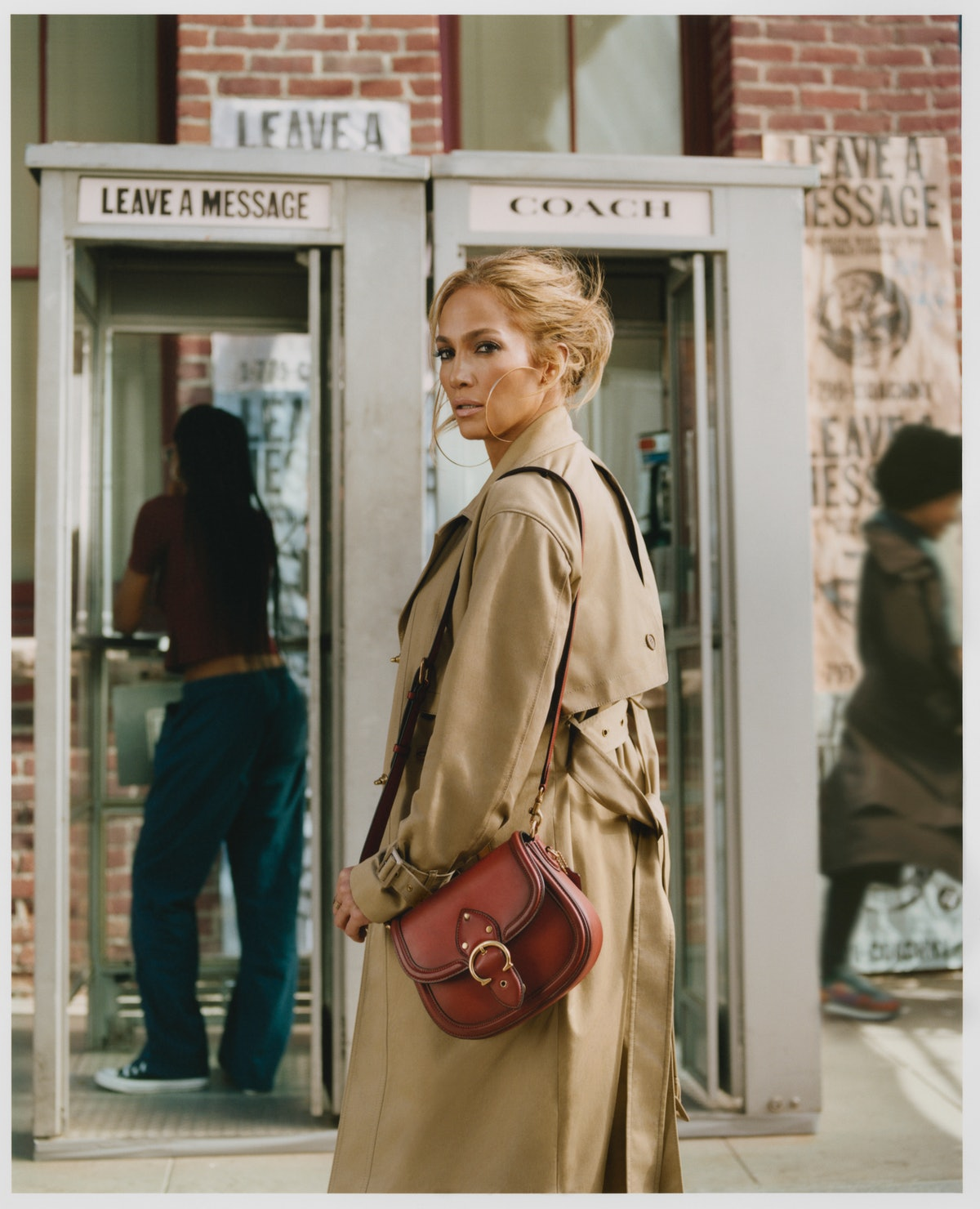 Jennifer Lopez in Coach's Spring/Summer 2021 Campaign.