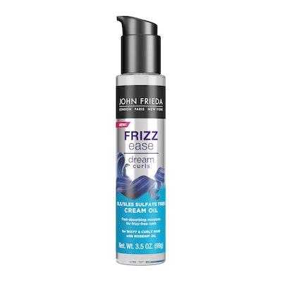 Frizz Ease Dream Curls Curl Defining Creme Oil