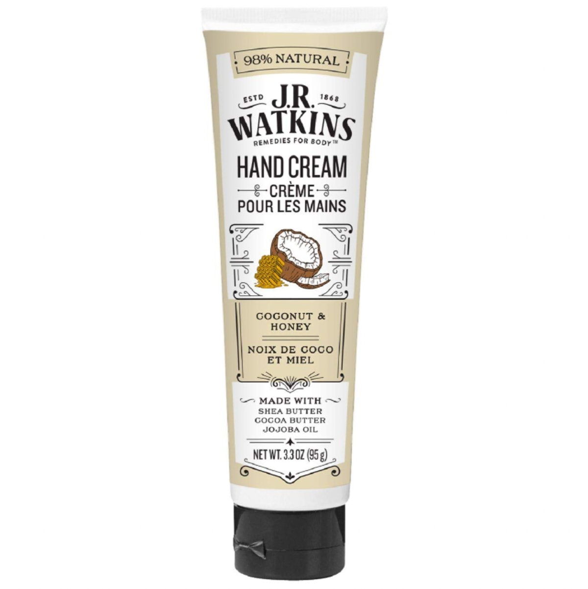 J.R. Watkins Moisturizing Hand Cream, 3.3 Oz.